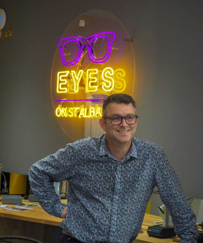 Jez Levy, Giles Smith Photography, Eyes on St Albans