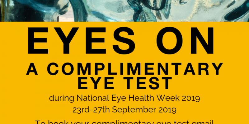 eye health week, eye health, eye test, eyes on st albans, optician, eye care
